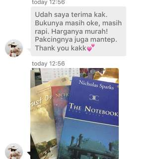 Our Customer Testimoni 😘