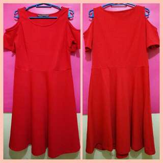 Samlin Red Dress (Medium)