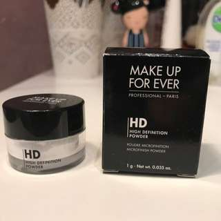 Make Up Forever HD high Definition Powder 1g