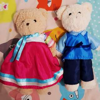 Teddy Bear Couple Korea Edition