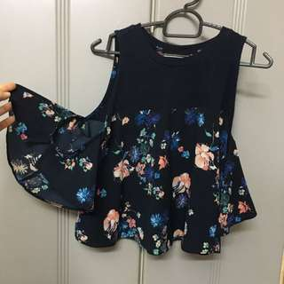 Bershka Preloved Top Off Shoulder