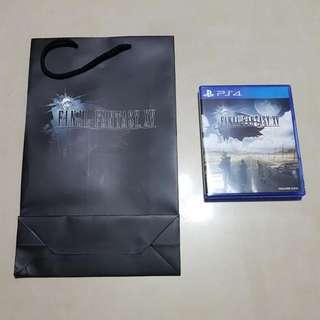 PS4 final fantasy 15 free FF15 paper bag