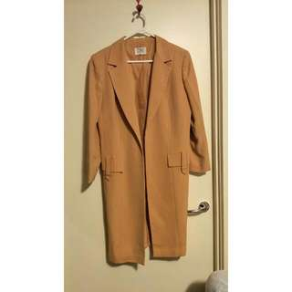COVERS size 12 Apricot Vintage Coat