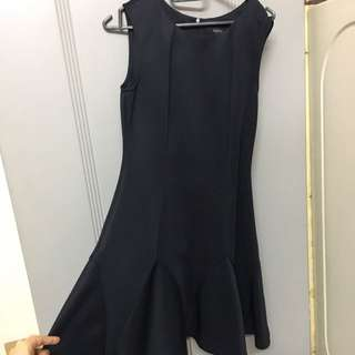 Nichii Preloved Formal Black Dress