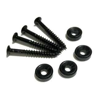 Neck Joint Bolt Mounting Ferrules & Screws For Electric Guitar & Bass With Contoured Neck Joint [PREORDER]
