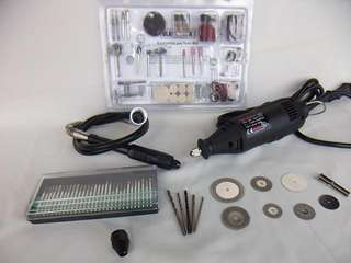B3德製電動雕刻機6段調速切割機 搭配150件雕刻配件針組萬用夾頭軟軸6種切割片組合