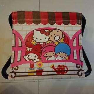 Sanrio Hello kitty 摺凳