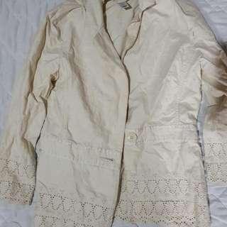 Old Navy Cream Blazer