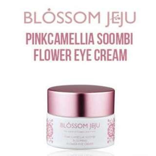 Blossom Jeju Pink Camellia Soombi Blooming Flower Eye Cream