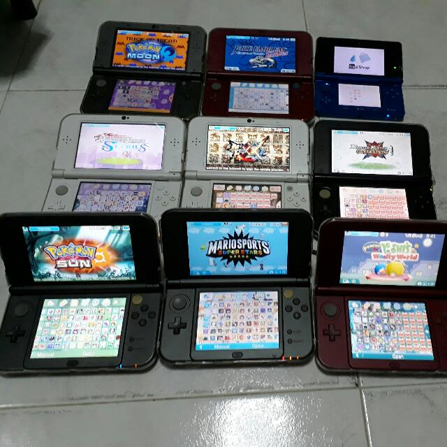 3DS Modding (11 6)
