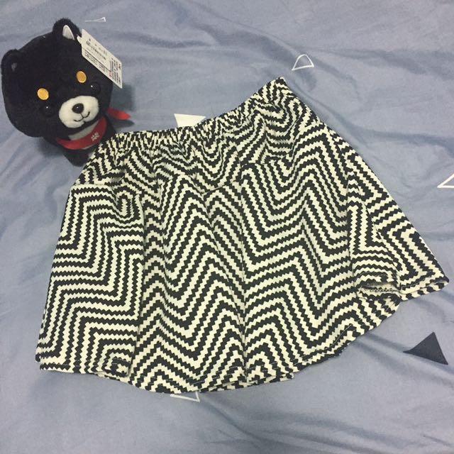 幾何圖形褲裙❤️