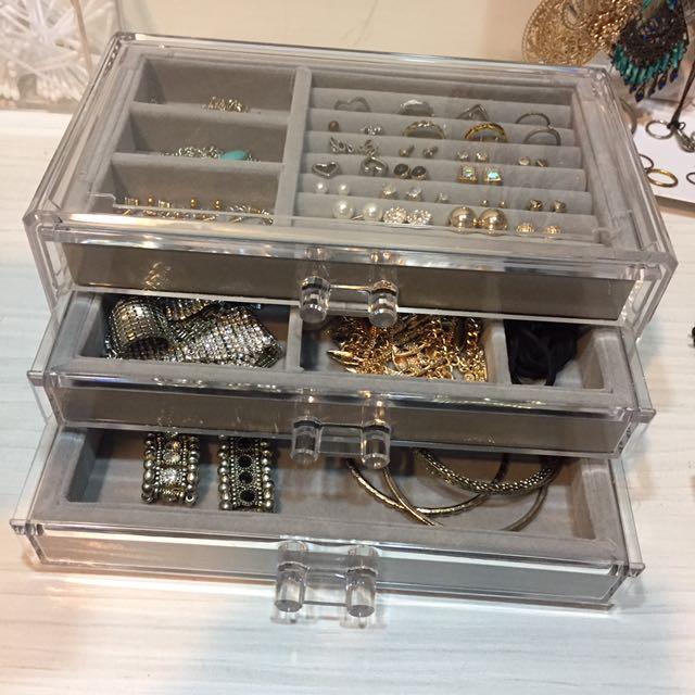 質感飾品珠寶盒