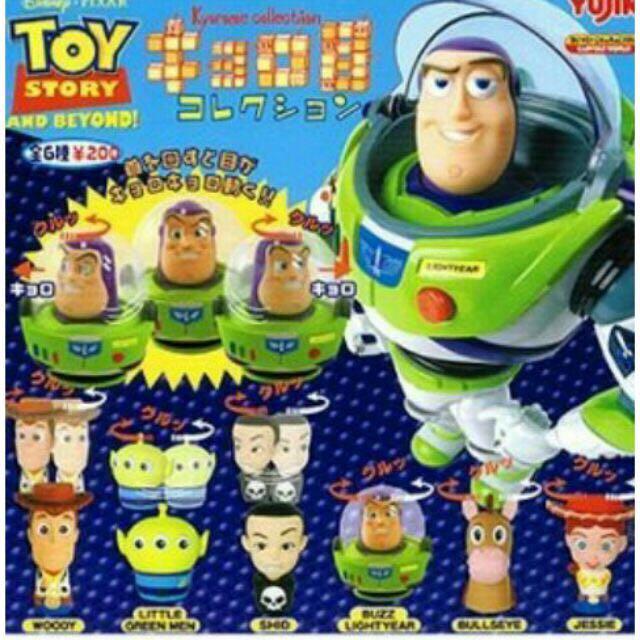 玩具總動員 轉眼扭蛋公仔