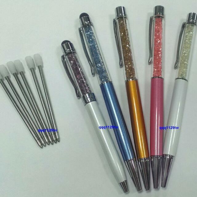 """施華洛世奇 水晶筆 專用替換""""黑色筆芯""""~適用Swarovski的水晶筆"""