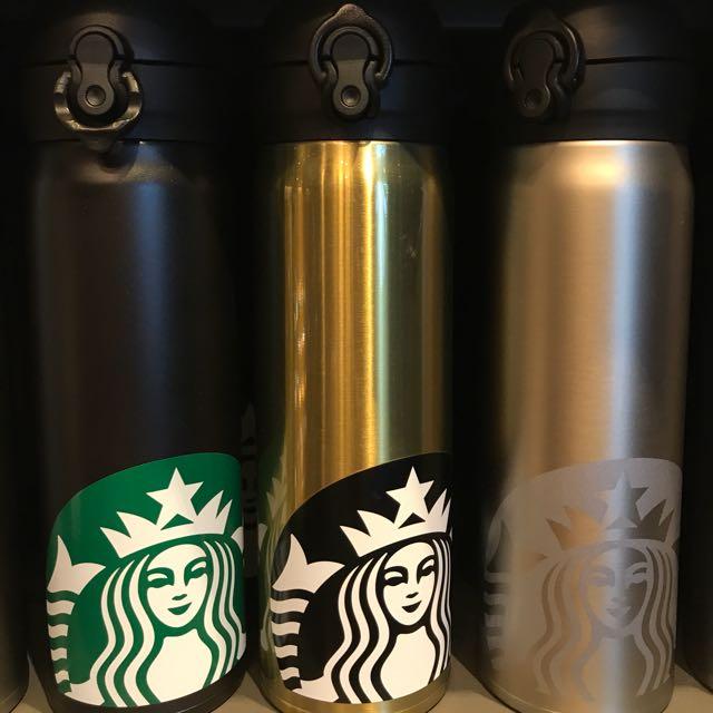 星巴克 STARBUCKS 經典品牌保溫瓶 隨身瓶
