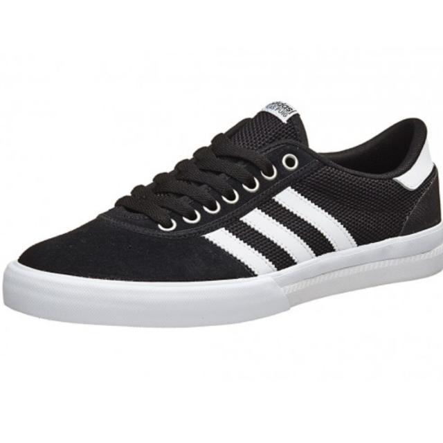 Adidas Lucas estreno ADV zapatos blanco / negro / blanco Hombres de la moda