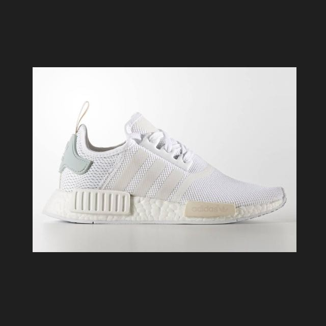 c1661ca7526a7 ADIDAS NMD R1 WOMEN BY3033 FOOTWEAR WHITE TACTILE GREEN