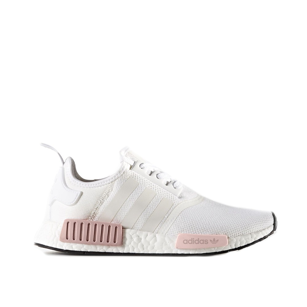Adidas NMD R1 White Rose, Women's Fashion, Shoes on Carousell