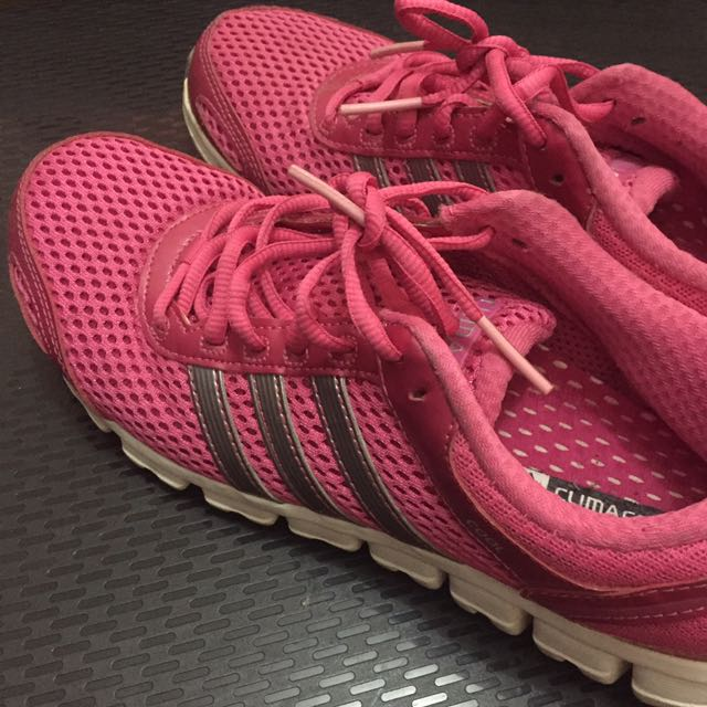 Adidas Running Shoes (Pink, Sz 39 1/3)
