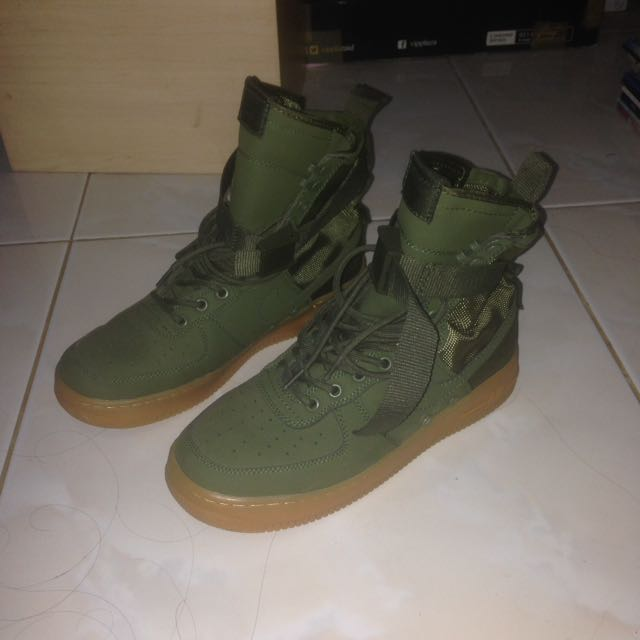 airforce 1 special field olive green