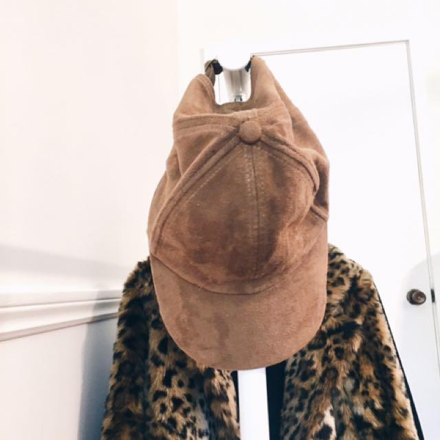 Aritzia Suede Hat