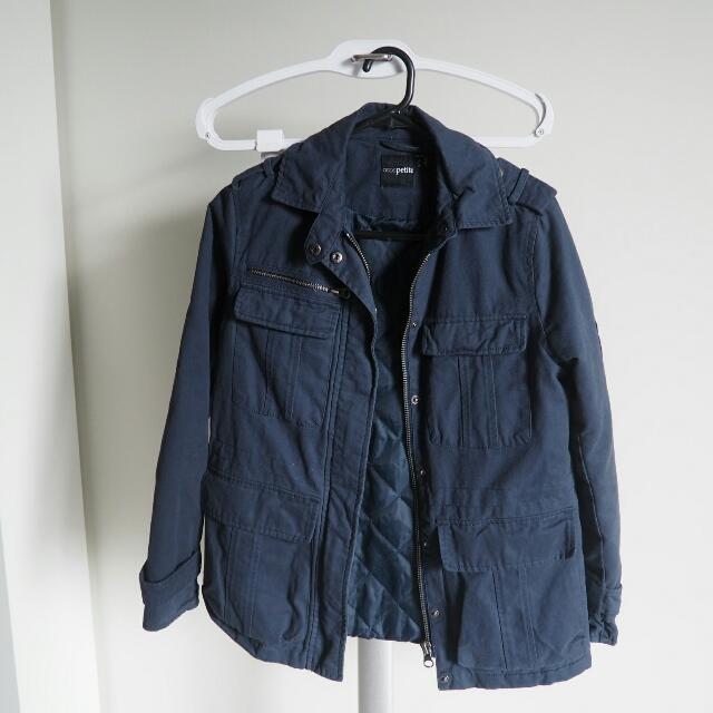 Asos Petite Navy Jacket/ Coat