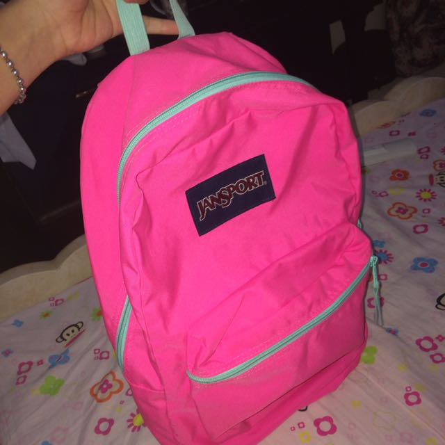 REPRICED! authentic jansport bag from the travel club
