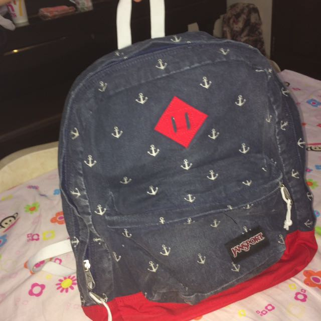 REPRICED! authentic jasport bag from the travel club