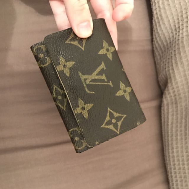 authentic LV card holder