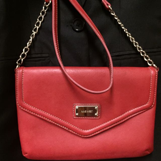 Authentic NINE WEST Red Cross Body Bag