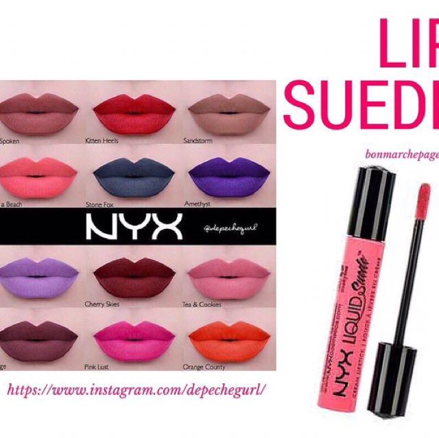 AUTHENTIC Nyx Liquid Suede Lipstick