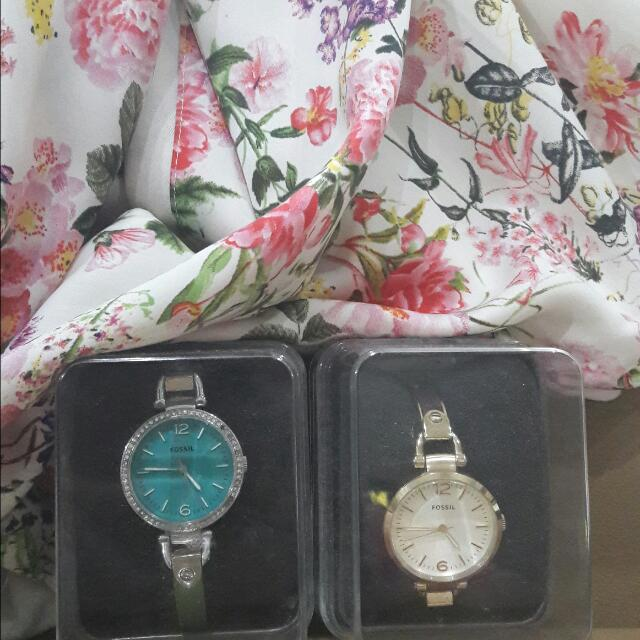 Authentic/Original Fossil Watch Each 550rb