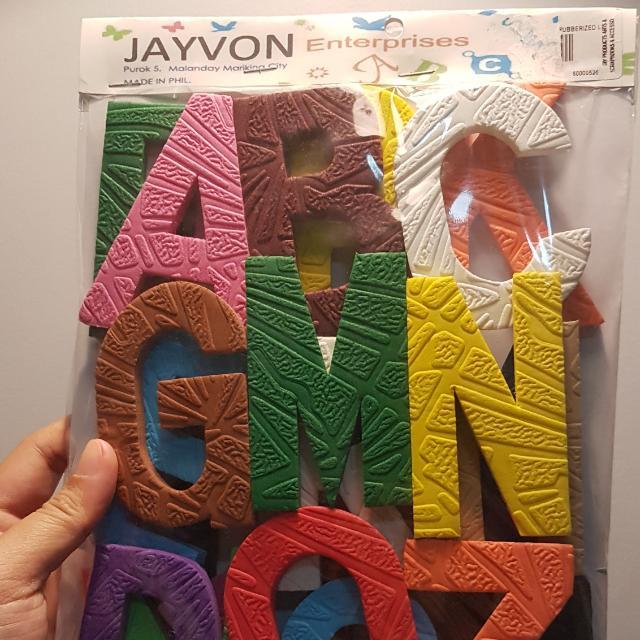 A-Z Foam Letters
