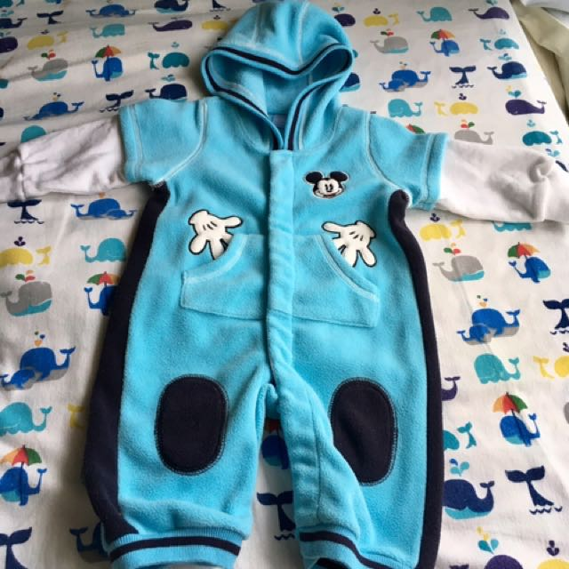 Baby Disney Cute Warm One-piece