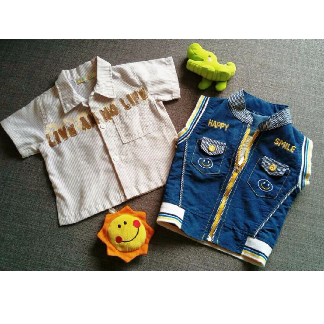 Baby shirt &vest (Free normal postage)
