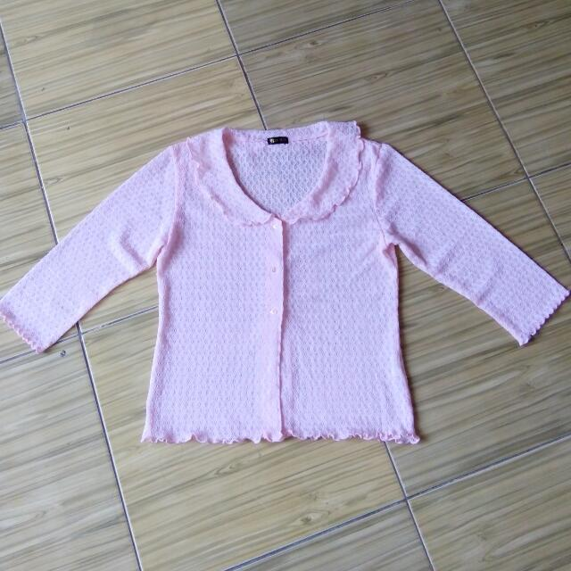 REPRICE!!! Babypink Knit
