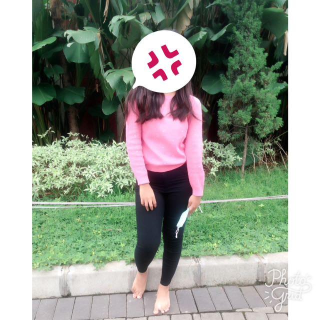 Baju Pajang Pink