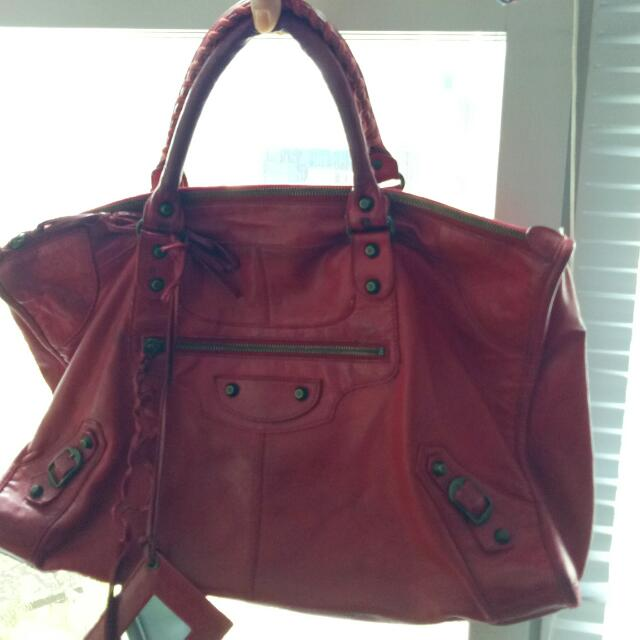 Preloved Ballenciaga (original) Red