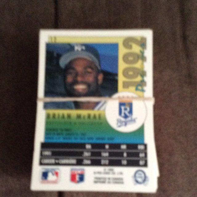 Baseball Hockey Cards