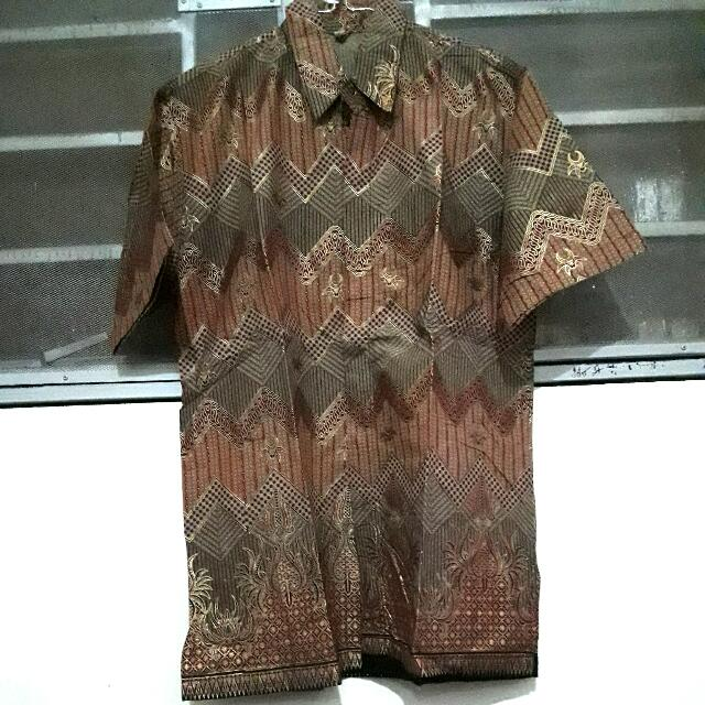 Batik Couple 1 set cewek cowok