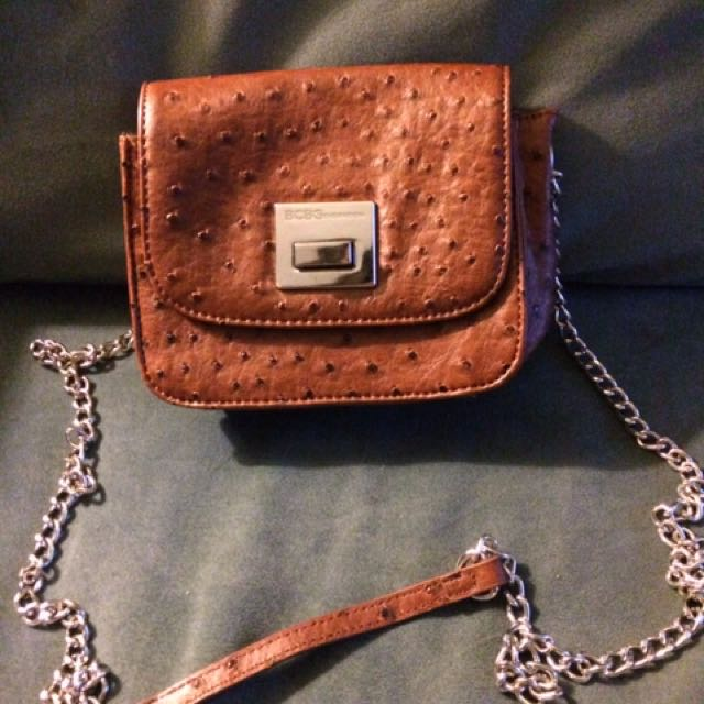 BCBG Brown Leather Bag