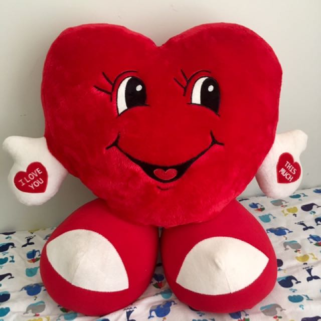 Big Valentine Soft Toy