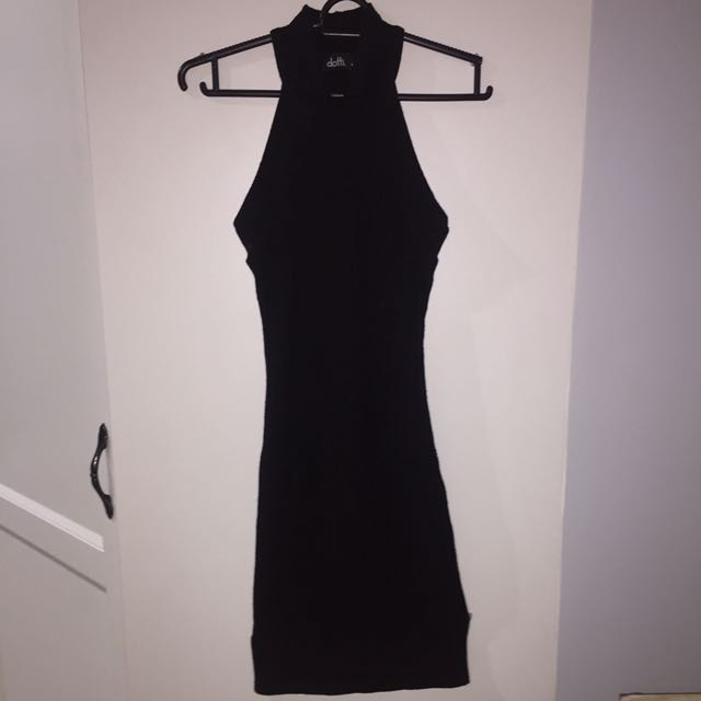 black Chocked Dress