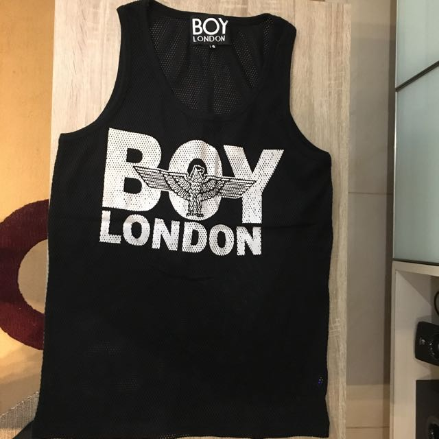 01826c9f124ab Brand New Authentic BOY LONDON Mesh Net Tank Top Size Small Over ...