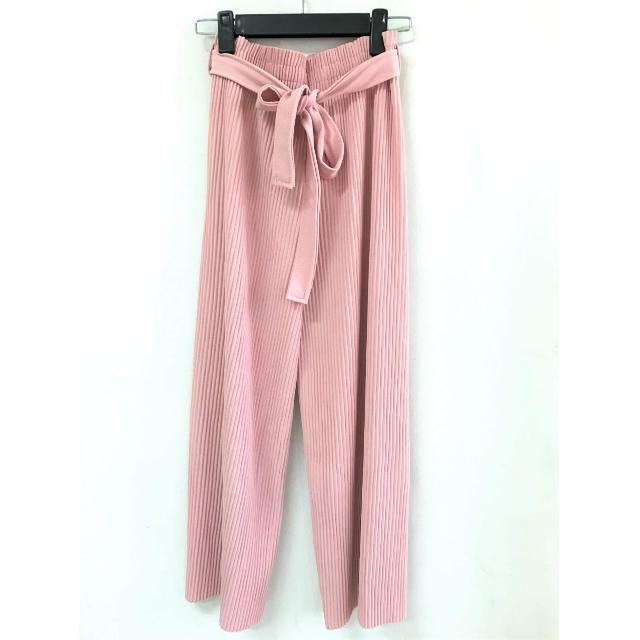(Brand New!) Blush Pink Pleated Pants (Unbranded)