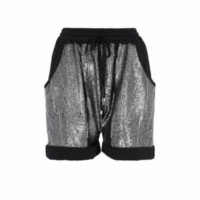 "SASS & BIDE ""Nocturnal Lover"" Embellished Shorts"