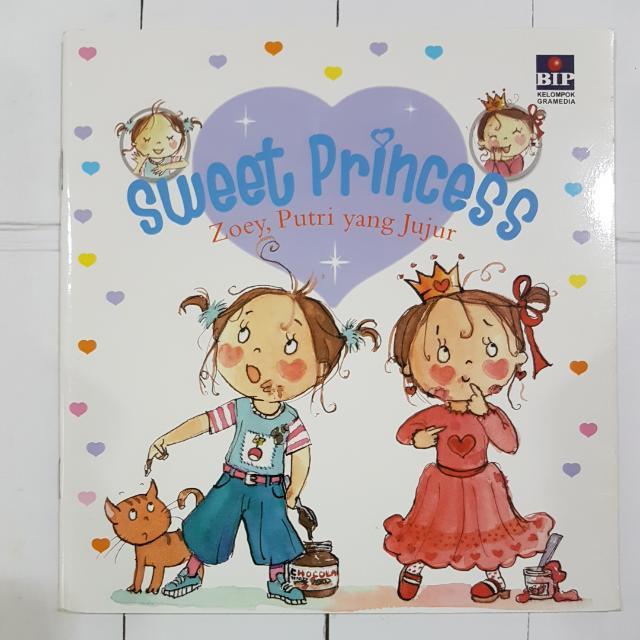 Buku Anak: Zoey Putri Yang Jujur