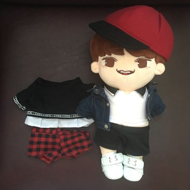 Chen Exo Doll Fansite Goods