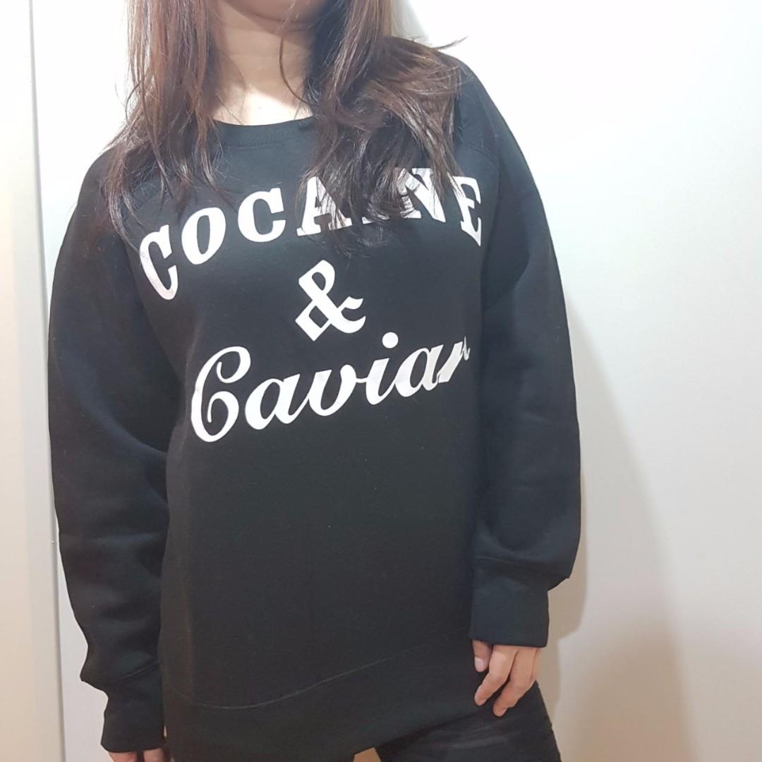 Coke & Caviar Pullover