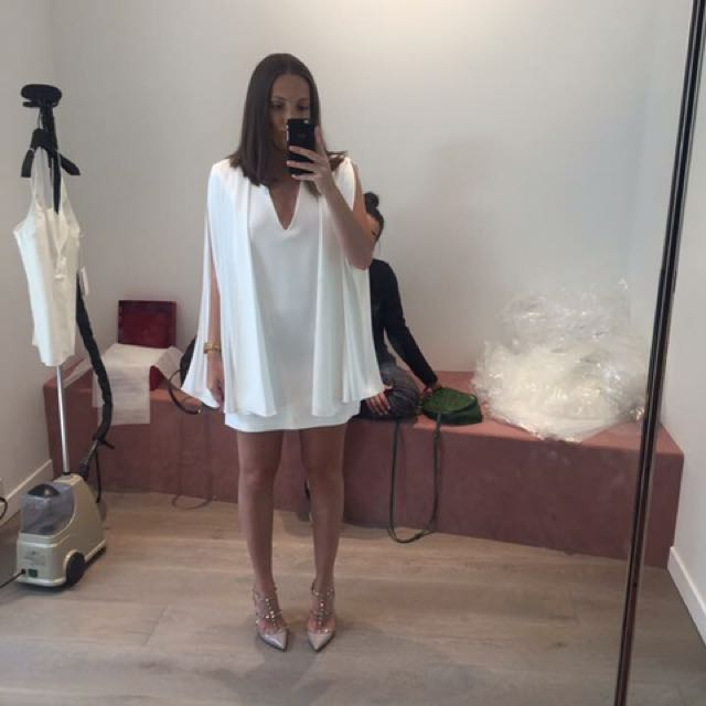 Dion Lee Spiral Sleeve Dress